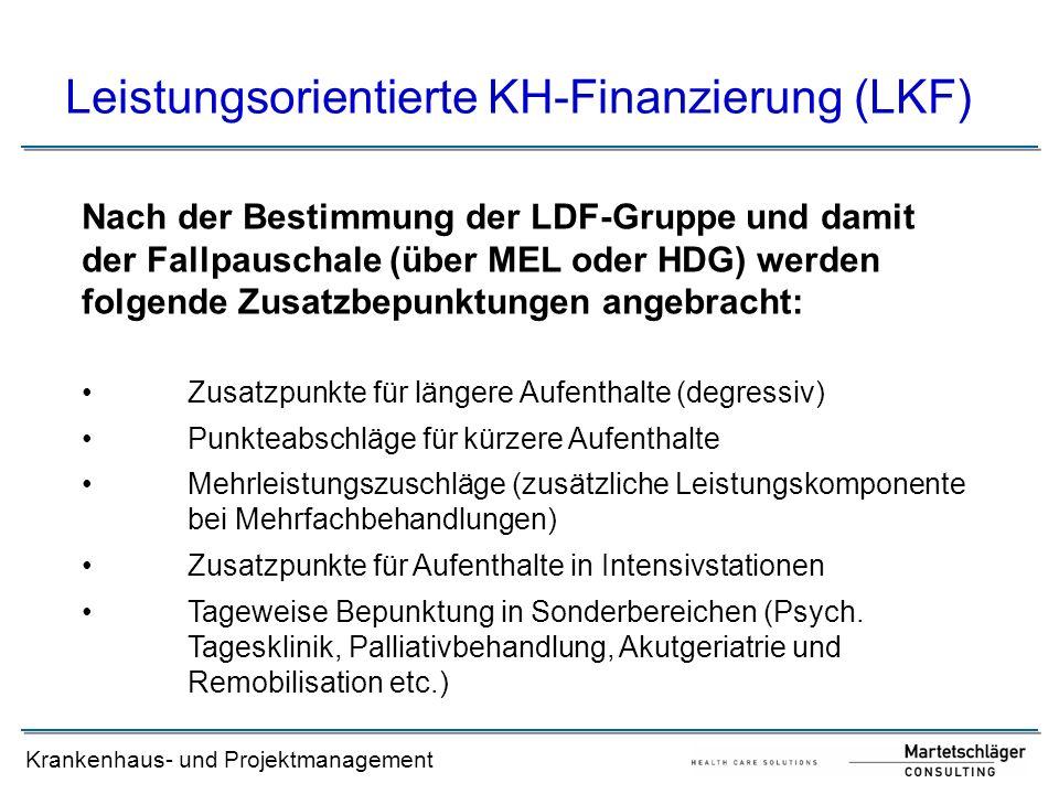 Leistungsorientierte KH-Finanzierung (LKF)