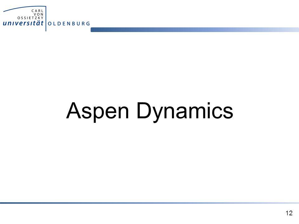 Aspen Dynamics - Glycerin sollte kontinuierlich aus der Reaktion entfernt werden -> GGW. Viel ausprobiert 