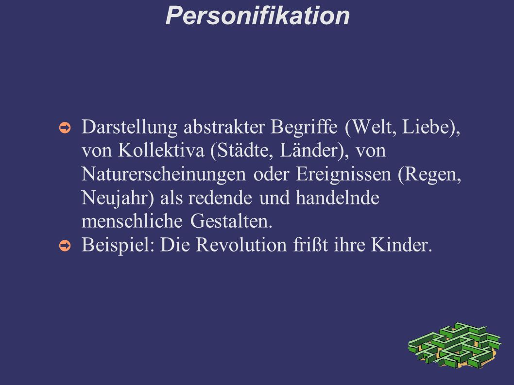 Personifikation