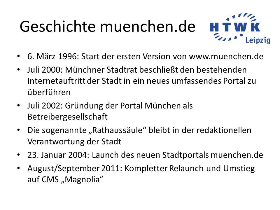 Geschichte muenchen.de