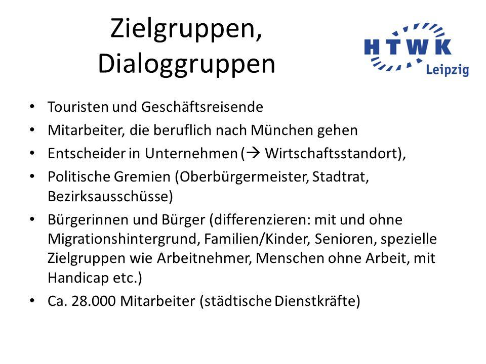 Zielgruppen, Dialoggruppen