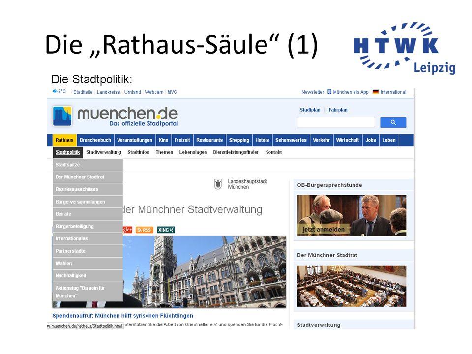 """Die """"Rathaus-Säule (1)"""