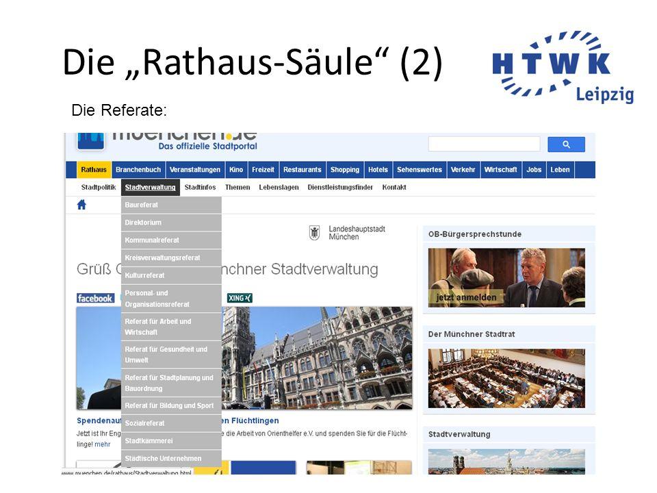 """Die """"Rathaus-Säule (2)"""