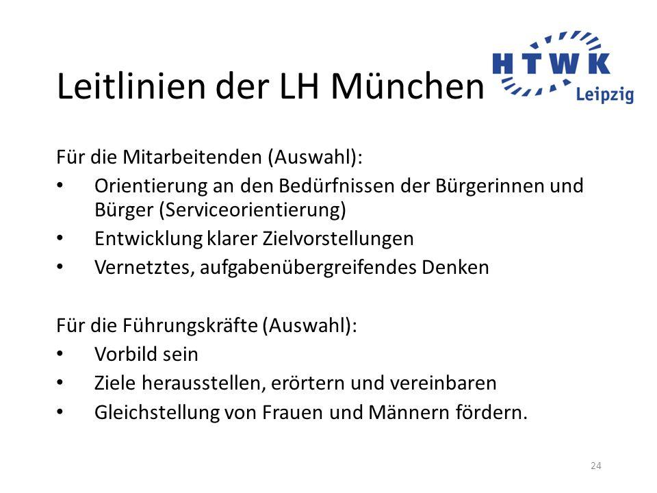 Leitlinien der LH München