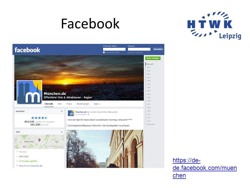 Facebook https://de-de.facebook.com/muenchen