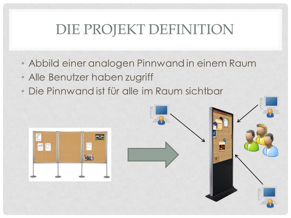 Die Projekt Definition