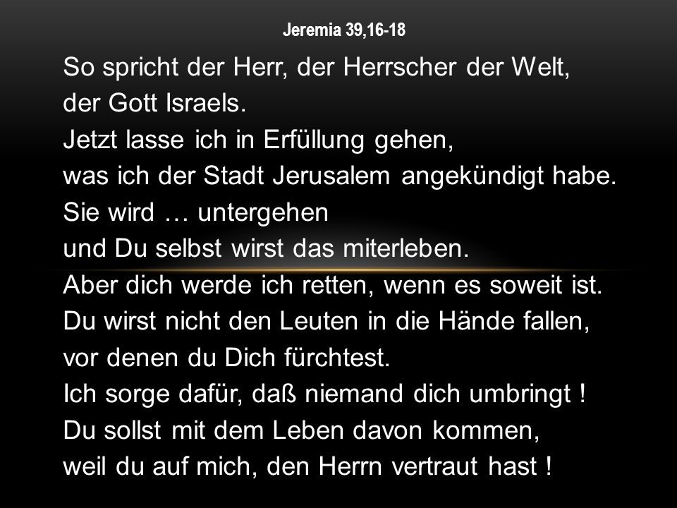 Jeremia 39,16-18