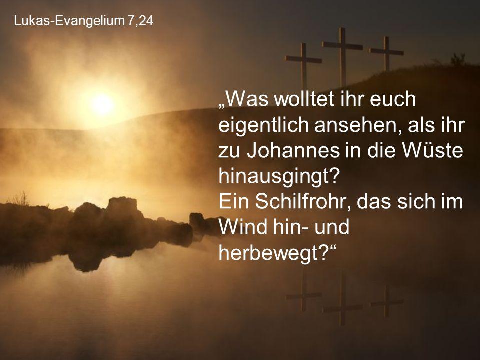 Lukas-Evangelium 7,24
