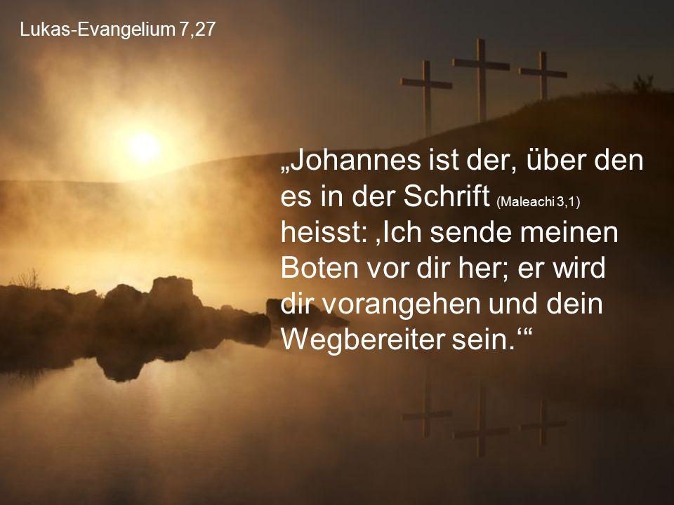 Lukas-Evangelium 7,27