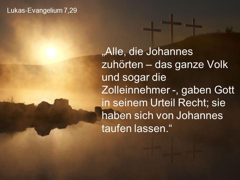 Lukas-Evangelium 7,29