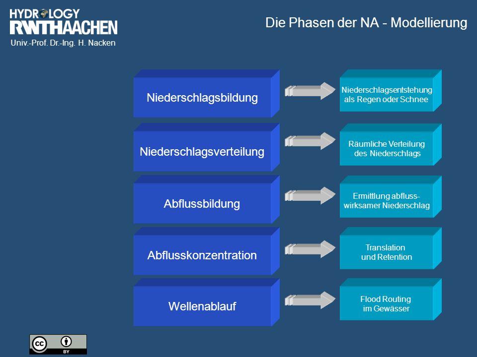 Die Phasen der NA - Modellierung