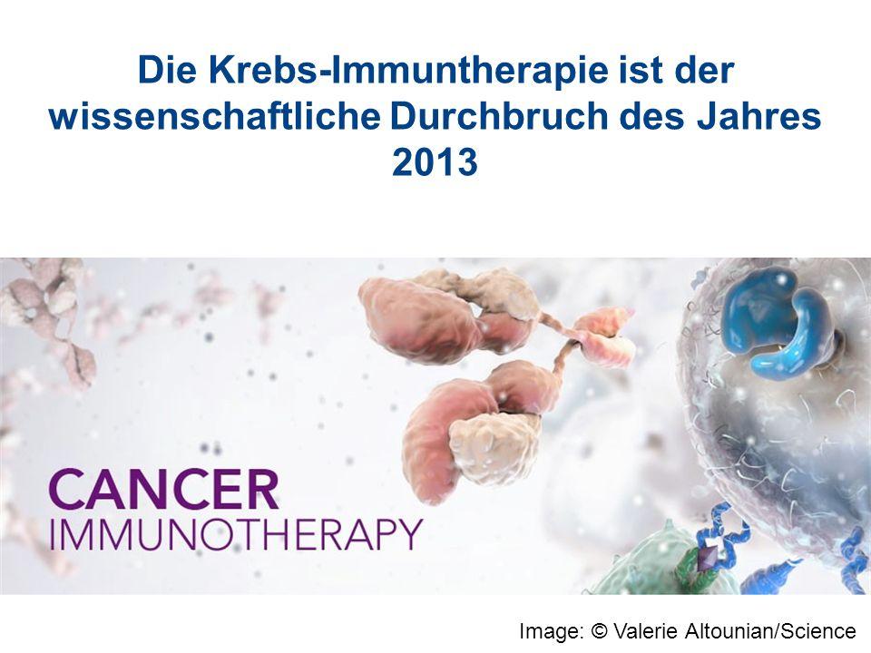 Die Krebs-Immuntherapie ist der wissenschaftliche Durchbruch des Jahres 2013