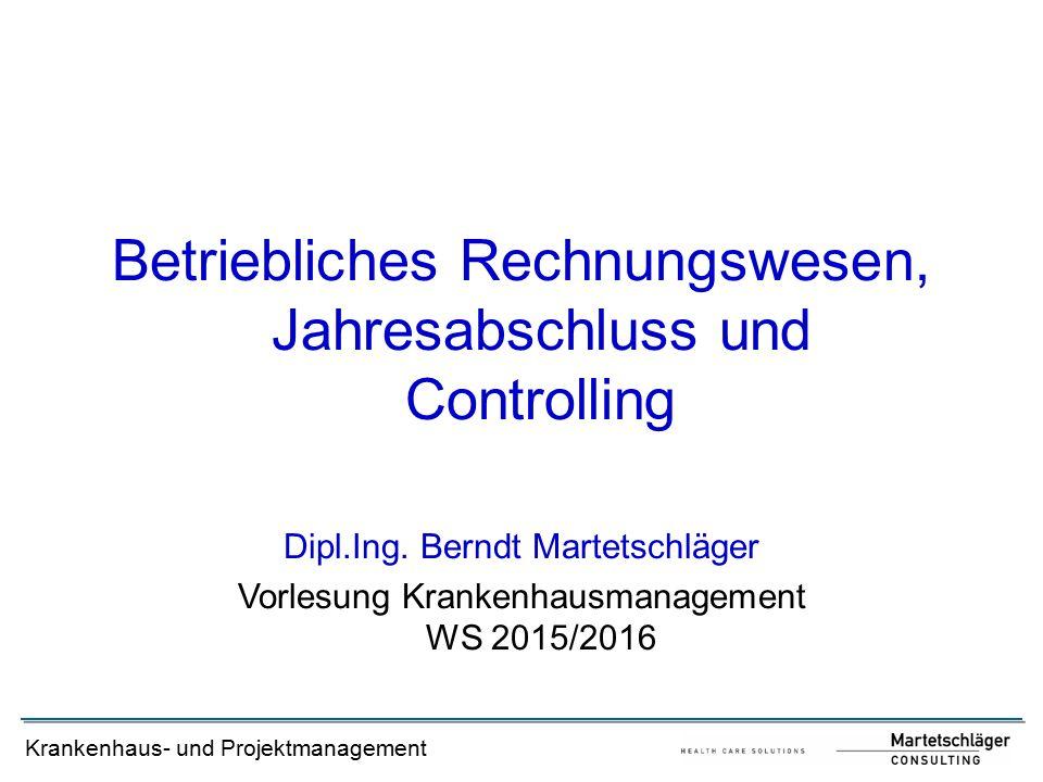 Betriebliches Rechnungswesen, Jahresabschluss und Controlling