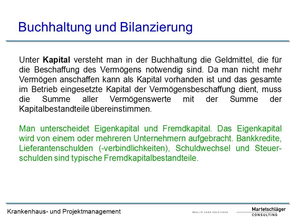 Buchhaltung und Bilanzierung