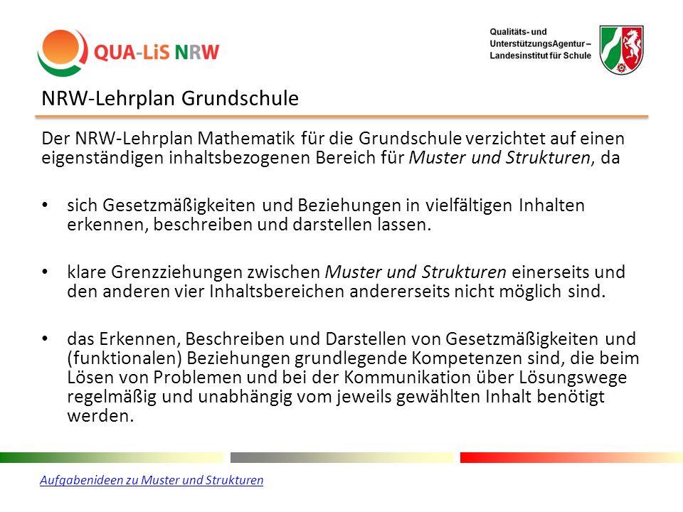 NRW-Lehrplan Grundschule