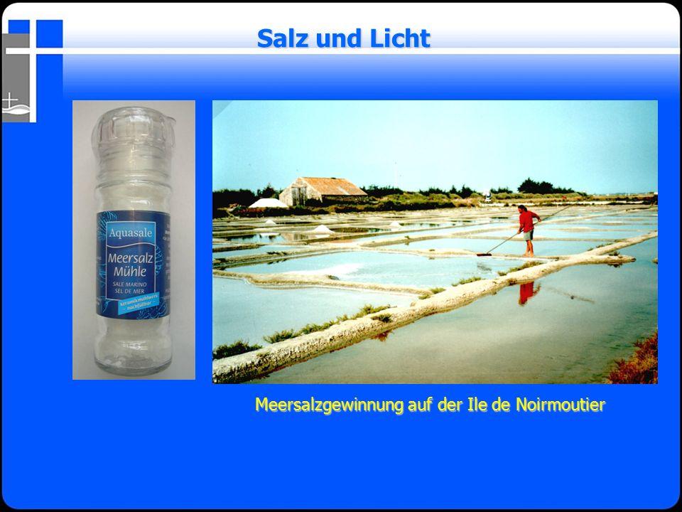 Salz und Licht Meersalzgewinnung auf der Ile de Noirmoutier