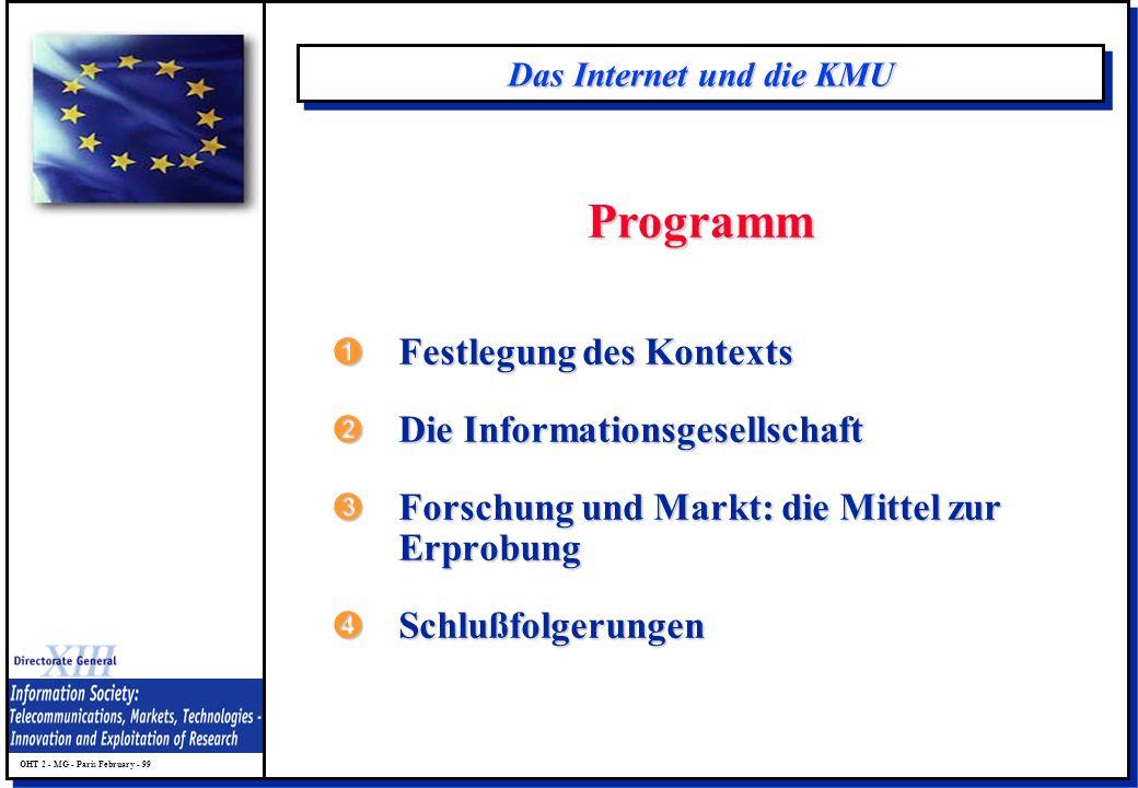 Das Internet und die KMU