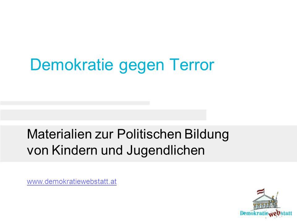 Demokratie gegen Terror