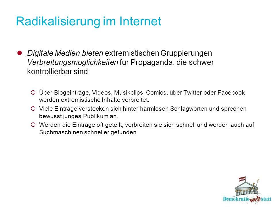 Radikalisierung im Internet