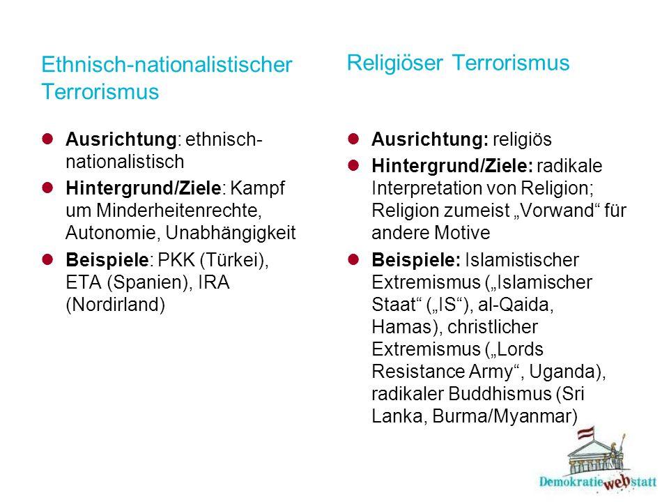 Ethnisch-nationalistischer Terrorismus