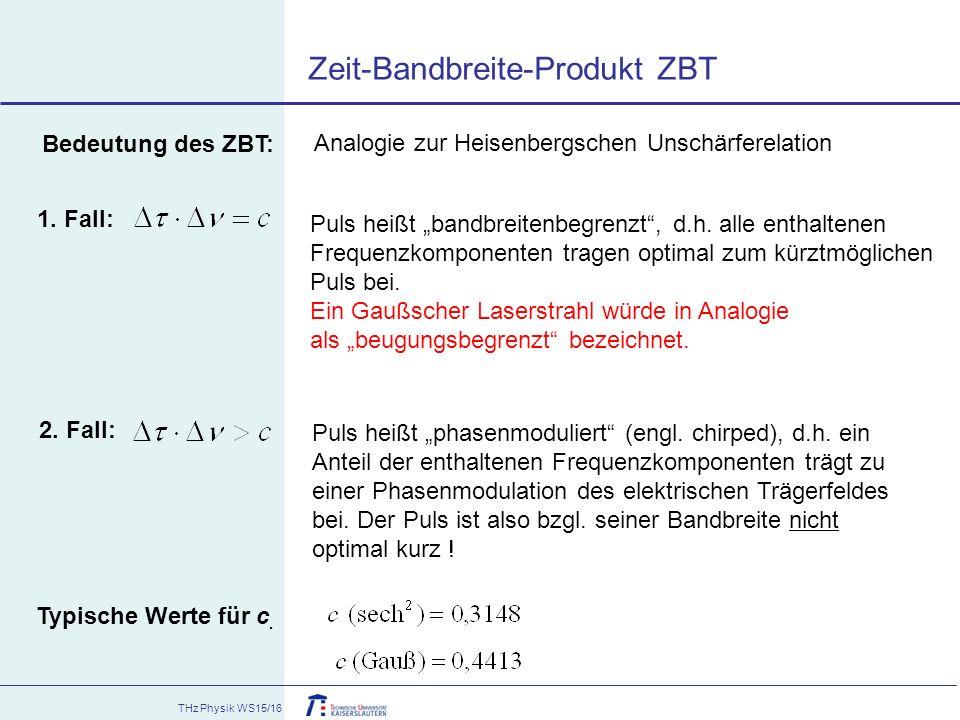 Analogie zur Heisenbergschen Unschärferelation