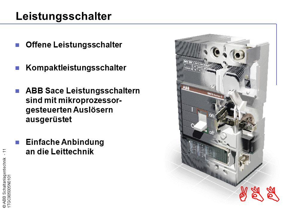 Leistungsschalter Offene Leistungsschalter Kompaktleistungsschalter