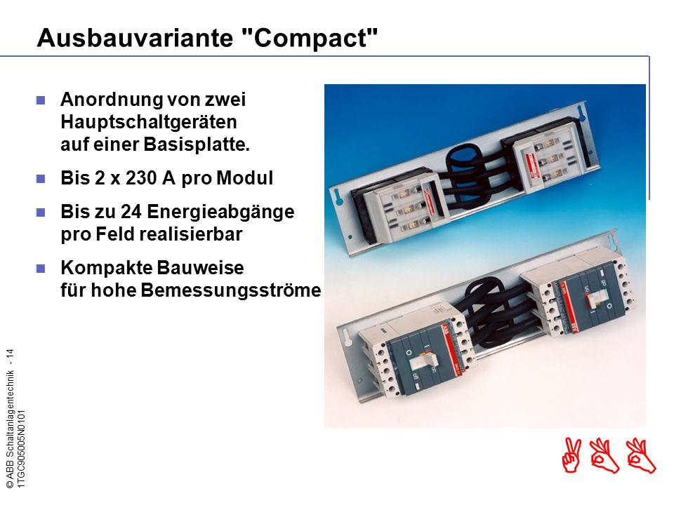 Ausbauvariante Compact