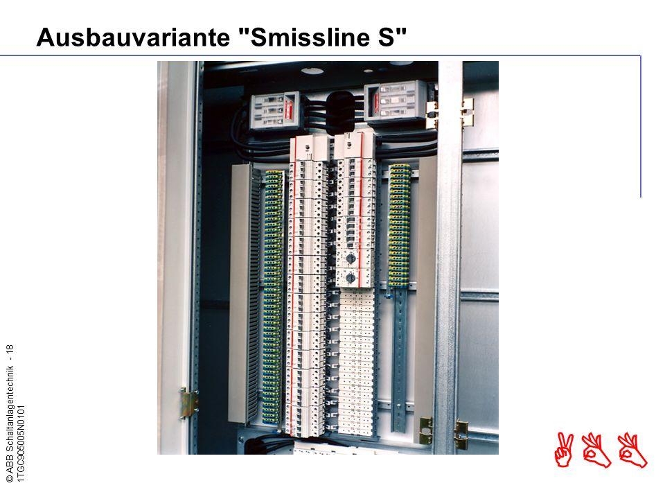 Ausbauvariante Smissline S