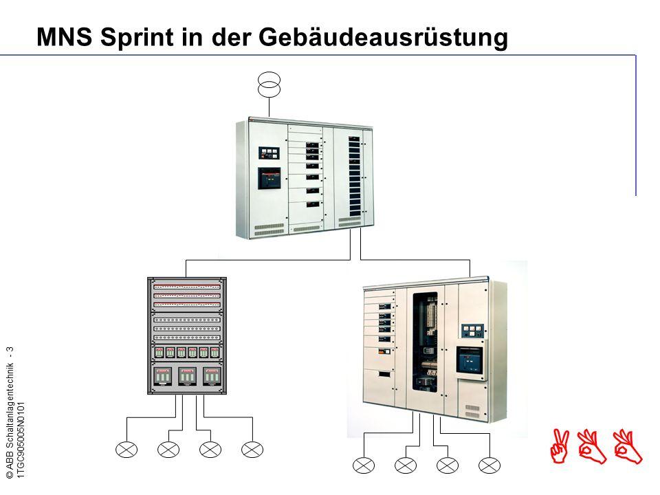 MNS Sprint in der Gebäudeausrüstung