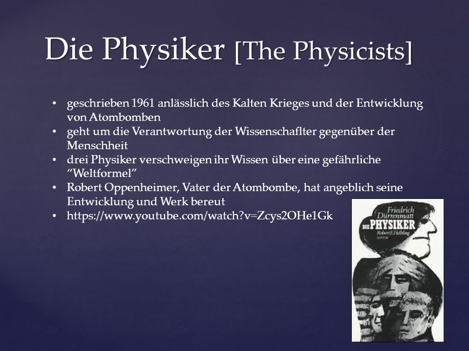 Die Physiker [The Physicists]