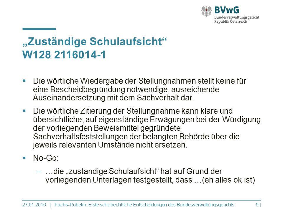 """""""Zuständige Schulaufsicht W128 2116014-1"""