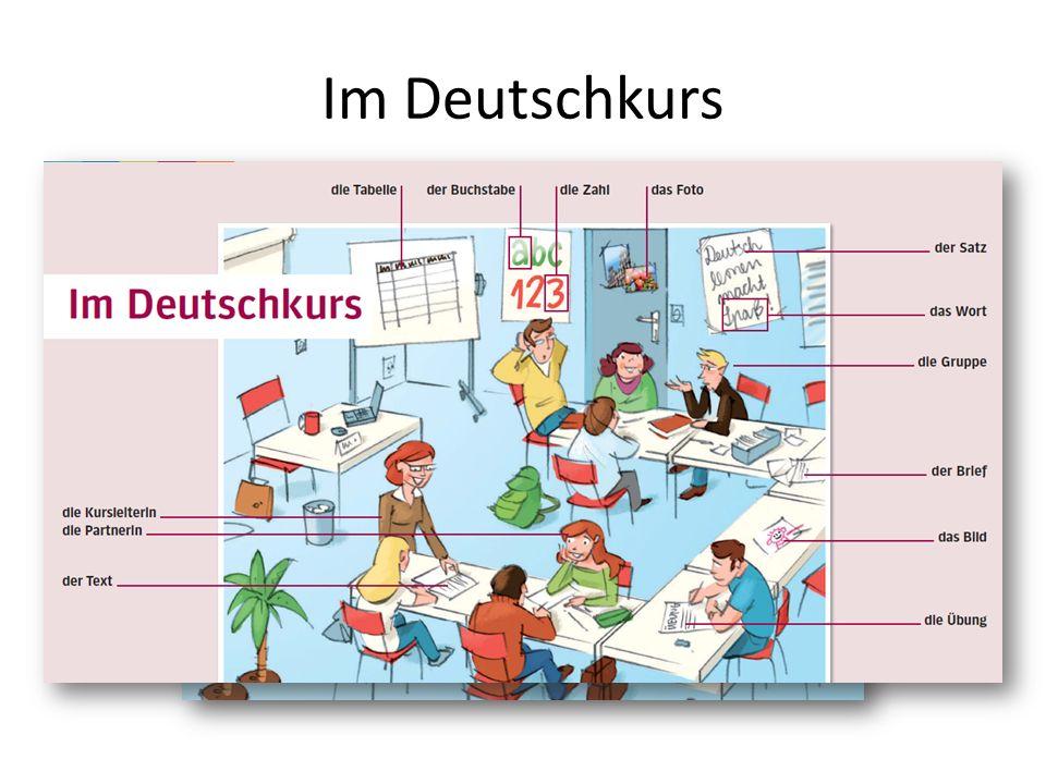 Im Deutschkurs