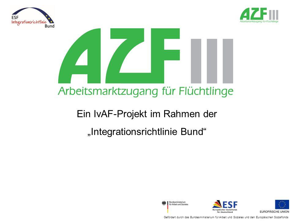 """Ein IvAF-Projekt im Rahmen der """"Integrationsrichtlinie Bund"""