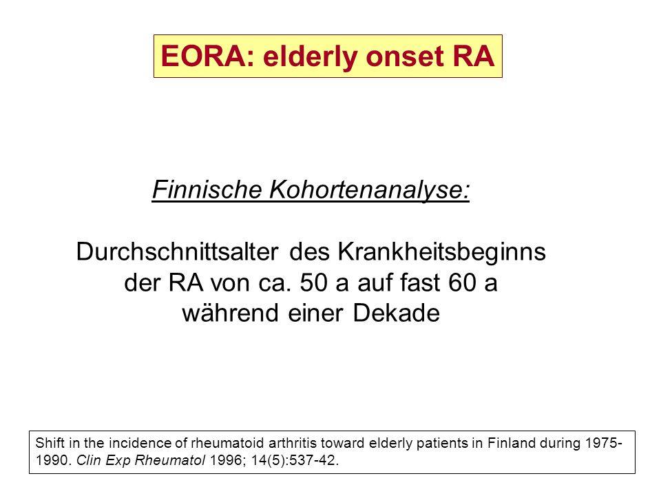 Finnische Kohortenanalyse: