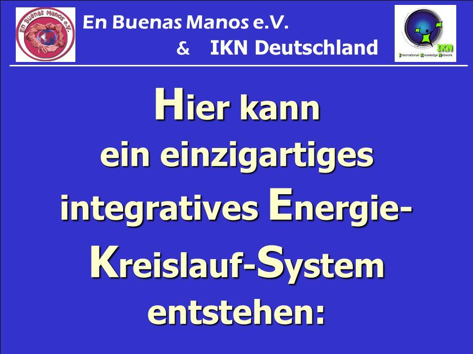 Hier kann ein einzigartiges integratives Energie- Kreislauf-System entstehen: