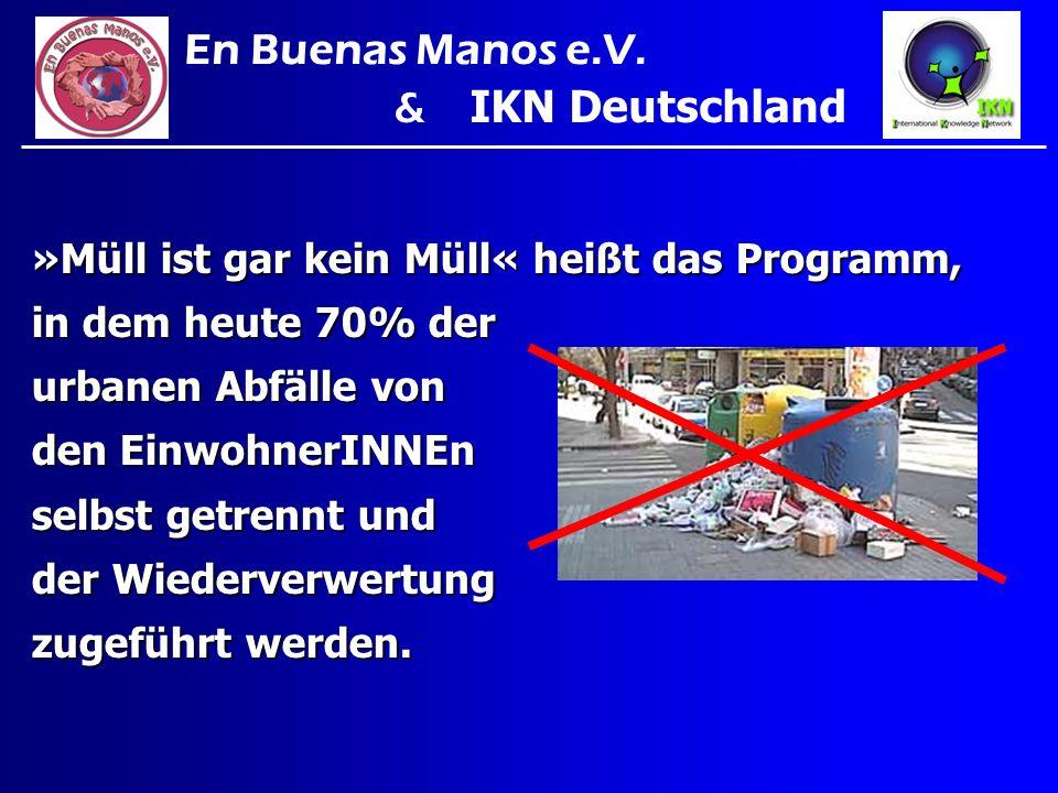 En Buenas Manos e.V. & IKN Deutschland
