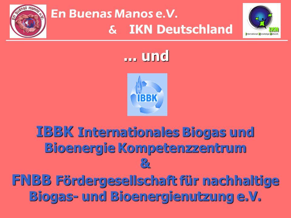 En Buenas Manos e.V. & IKN Deutschland. ... und.