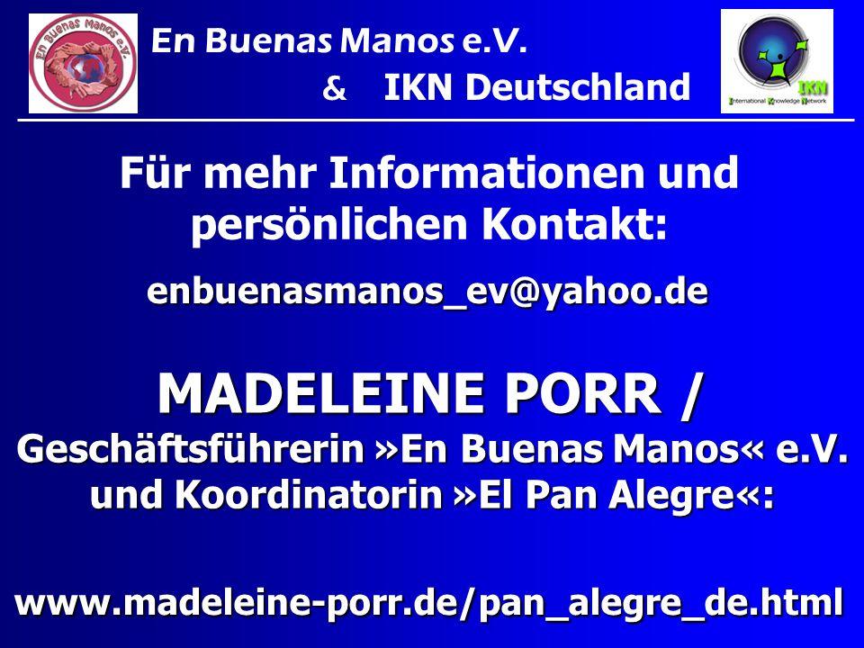 Für mehr Informationen und persönlichen Kontakt: