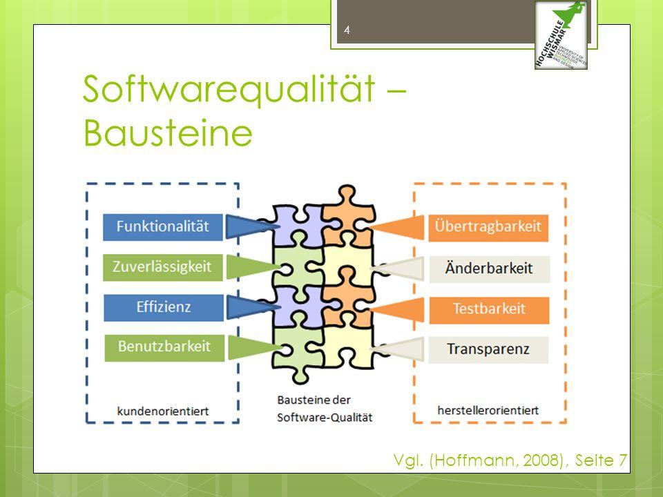 Softwarequalität – Bausteine