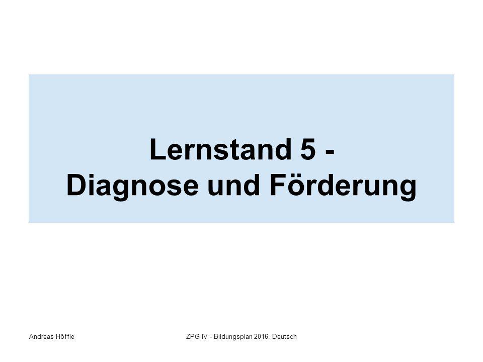 Lernstand 5 > Diagnose > Förderkonzept > Leseförderung
