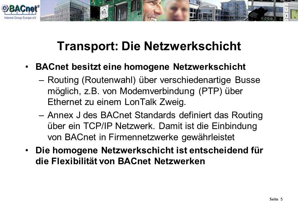 Transport: Die Netzwerkschicht