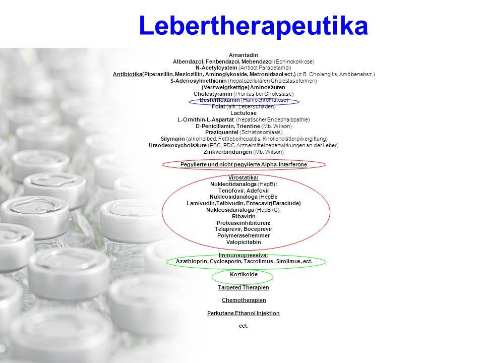 Lebertherapeutika Amantadin