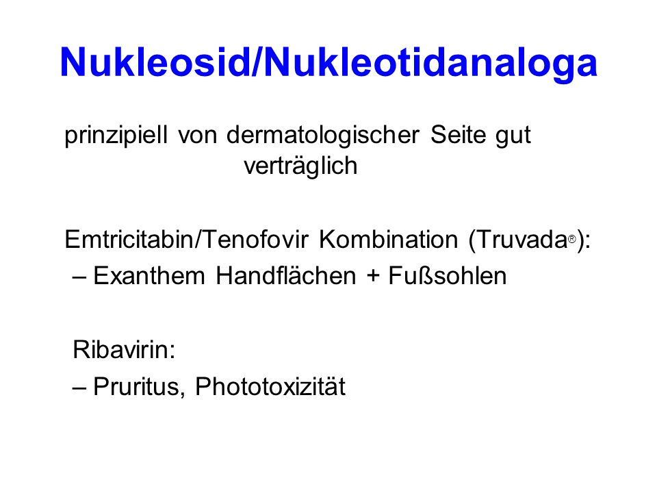 Nukleosid/Nukleotidanaloga