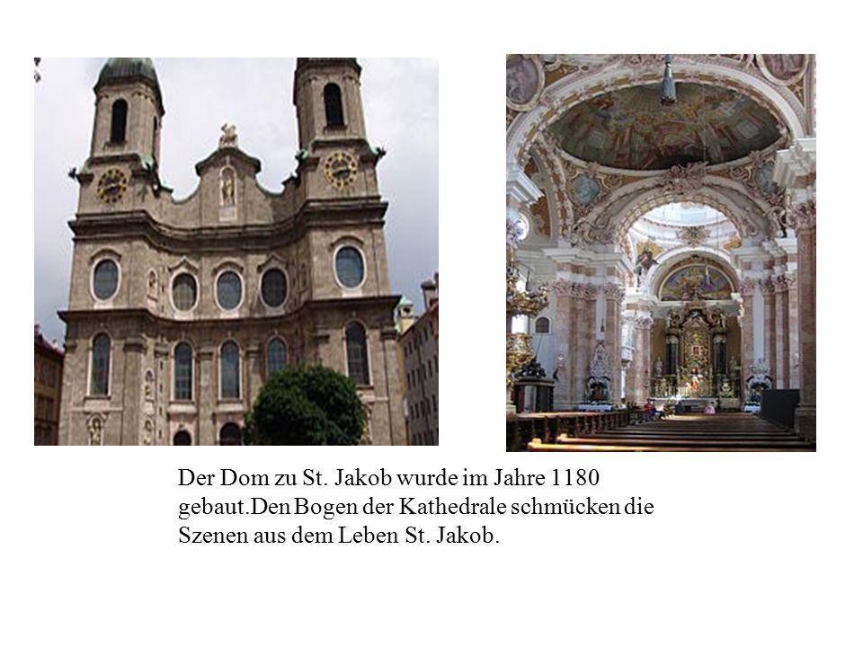 Der Dom zu St. Jakob wurde im Jahre 1180 gebaut