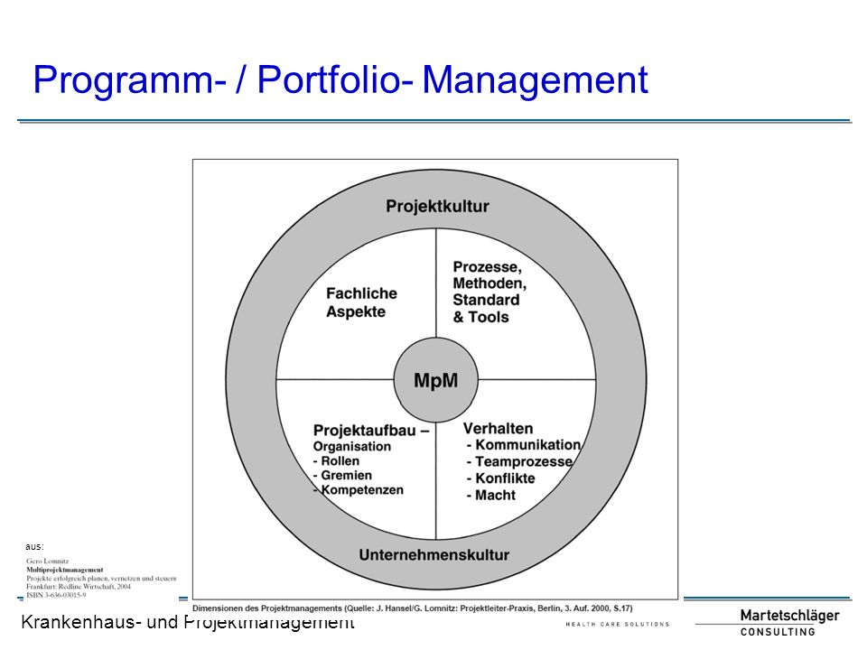 Programm- / Portfolio- Management