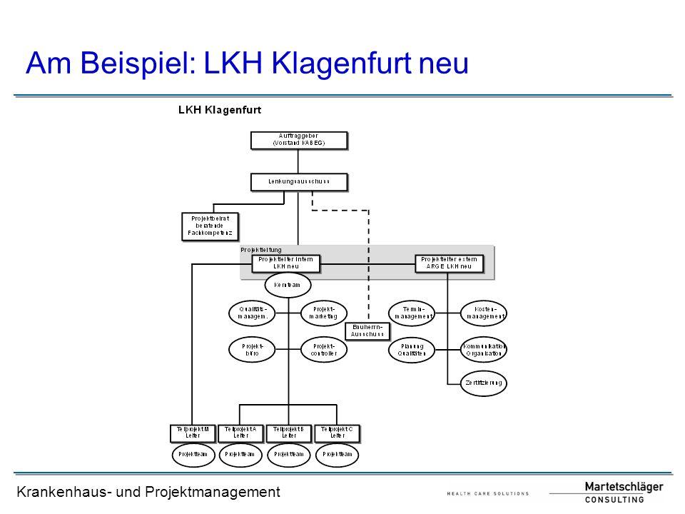 Am Beispiel: LKH Klagenfurt neu