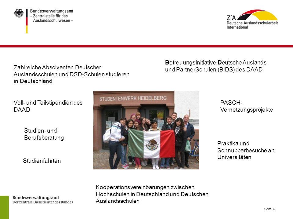BetreuungsInitiative Deutsche Auslands-