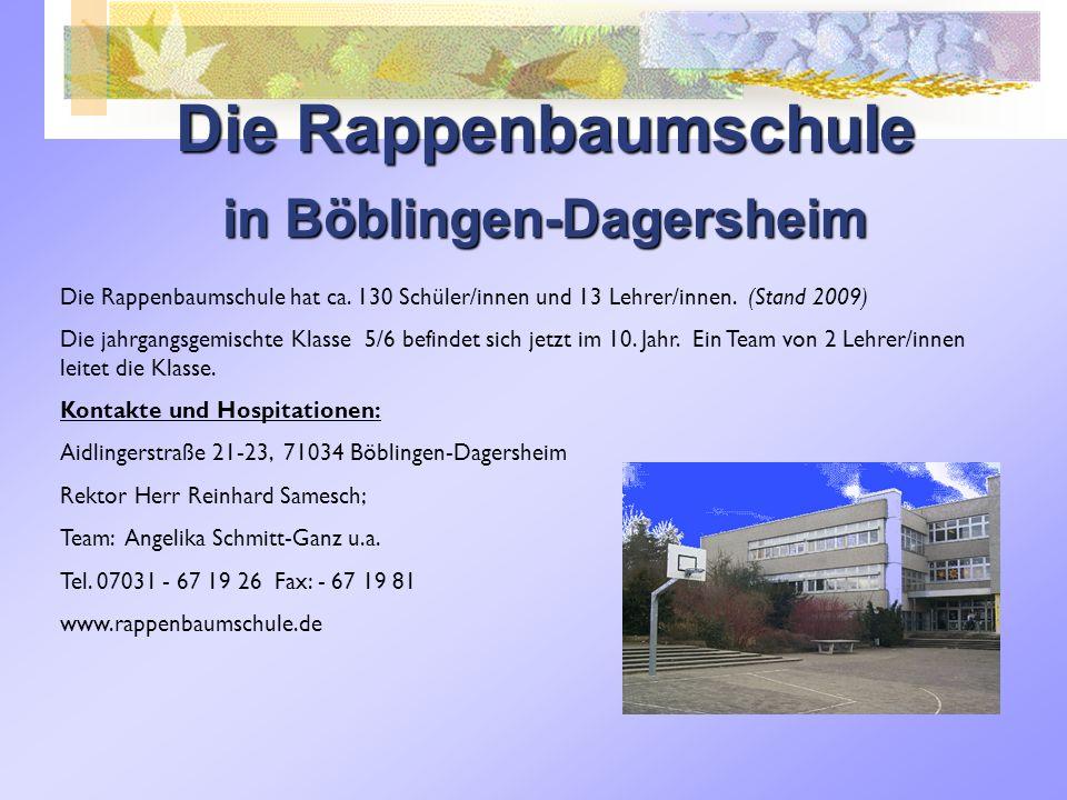 in Böblingen-Dagersheim