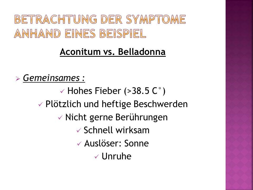 Betrachtung der Symptome Anhand eines Beispiel