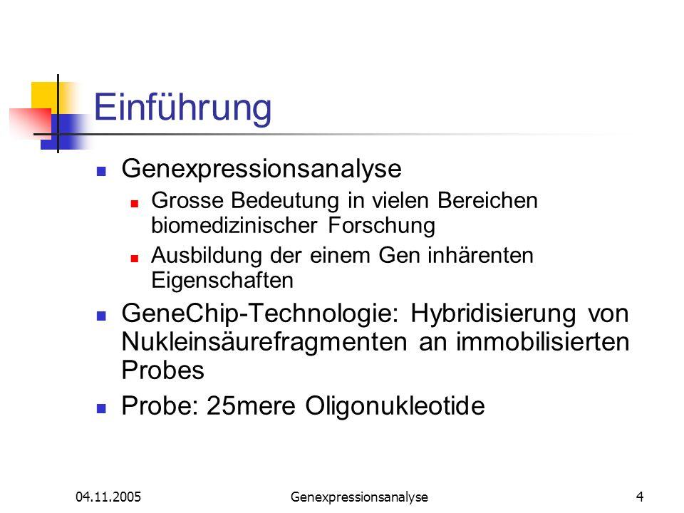 Genexpressionsanalyse